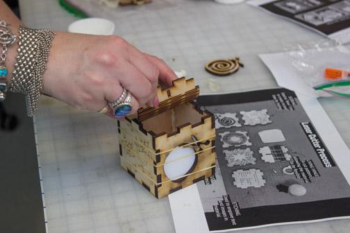 A laser cut box