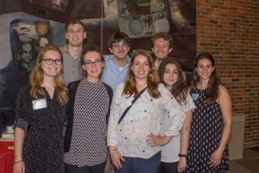 SUNY New Paltz Art Ed student volunteers